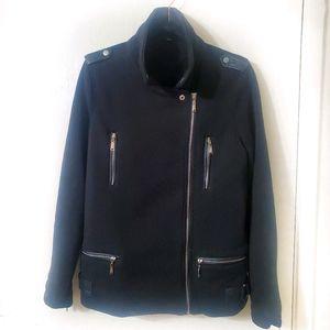 Jou Jou I Black Jacket Silver Hardware Size Large